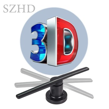 Latest 42cm SD card New Design High Resolution Display 3D Hologram Fan projector for Advertising
