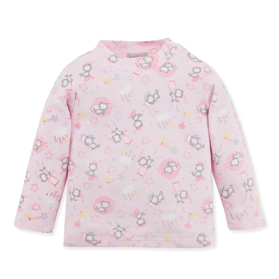 Baby Kleinkind Kinder Mädchen Frühling Herbst Hemd Baumwolle Langarm Winter Bodenbildung Shirts Kinder Kleidung Für Neugeborene Elegant Und Anmutig
