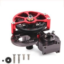 For Axial Scx10 Ax10 Remote Control Climbing Car Metal Medium Wave Box Assembly Modified Upgrade Accessories