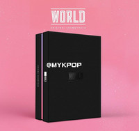 [MYKPOP]~OFFICIAL~KPOP Album: WORLD OST, CD+Photobook+Photo Card+Poster KPOP Item SA19071301