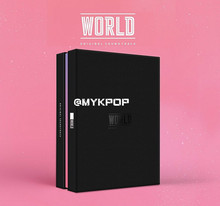[MYKPOP]~ الرسمية ~ ألبوم KPOP: OST العالم ، CD + فوتوبوك + بطاقة صور + ملصق KPOP العنصر SA19071301