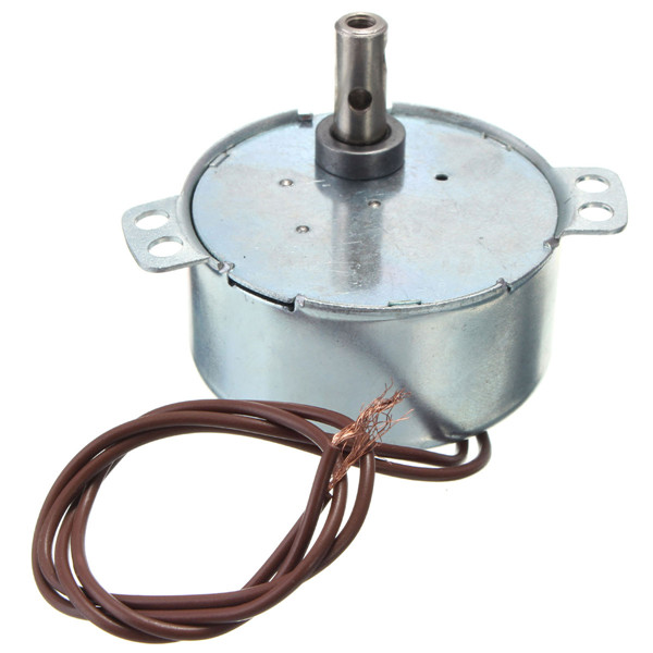 цены AC 220-240V Turntable Synchronous Motor 15/18r/min 3.5/3W CW Widely used in electric fans heaters microwave oven