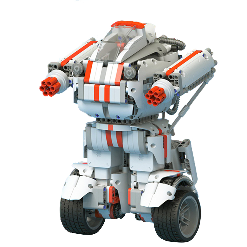 Xiaomi Robot MITU Building Block DIY Mobile Phone Control Self-assemble Intelligent Robot Self-balance System Module Program xiaomi mitu intelligent story robot fairy tale happy children s songs english enlightenment rabbit brinquedos educativos