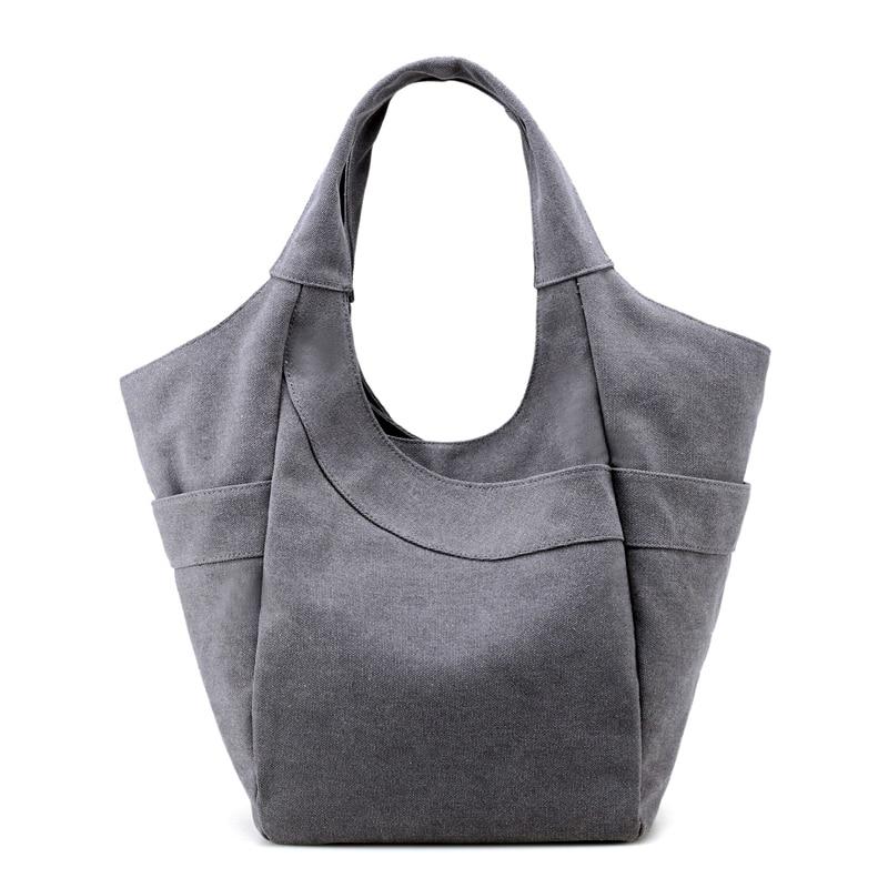 Shoulder Bags  Bag Canvas Big Handbag Tote Shopping Bag Top-Handle Bag Sac A Main