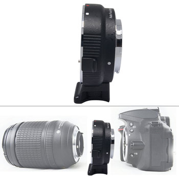 Mcolpus Auto Mount Adapter EF-NEX for Canon EOS EF Mount Lens to Sony NEX series E-Mount Camera with 1/4 Tripod socket