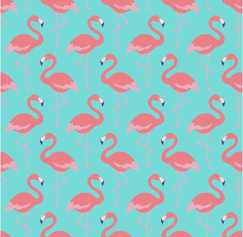 Pink Flamingos Pattern Wall backdrop Vinyl cloth High quality Computer print party photography studio background цена и фото
