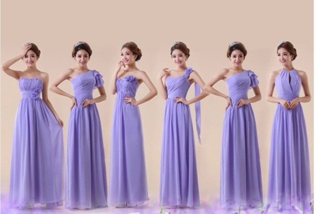 customized size color lavender