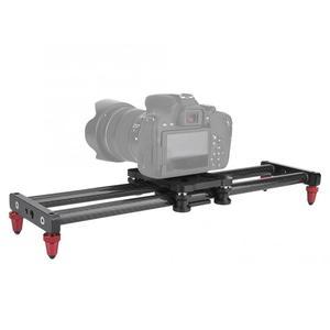 Image 3 - 42 سنتيمتر حامل كاميرا متحرك ألياف كاميرا الكربون المسار المنزلق فيديو استقرار DSLR السكك الحديدية كاميرا التصوير المنزلق كاميرا مع 1/4 مسامير