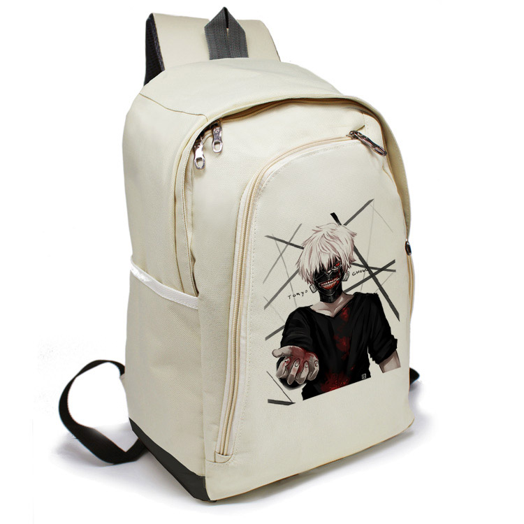 Anime Kaneki Ken Backpack Chuldren School Bags Cartoon Tokyo Ghoul Bag Travel Durable Tokyo Ghoul Cosplay Backpack rolecos black hot japanese anime cartoon character tokyo ghoul cosplay kaneki ken costume female fighting dress cosplay costume