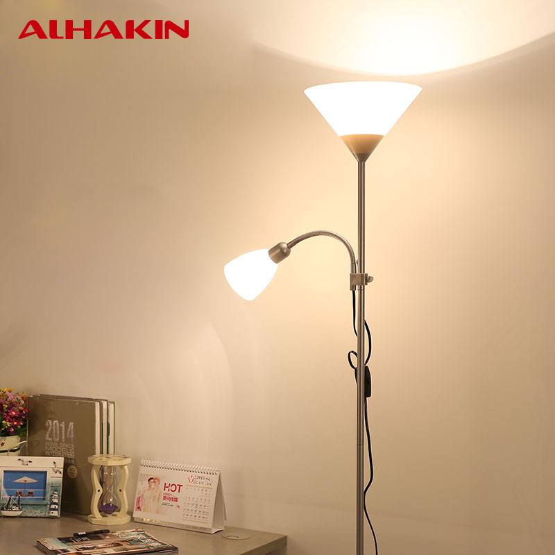 ALHAKIN Modern European Floor Lamp Acrylic Vertical Floor Lamp For Bedroom Living  Room Standing Lamps Indoor Lighting Fixture In Floor Lamps From Lights ...
