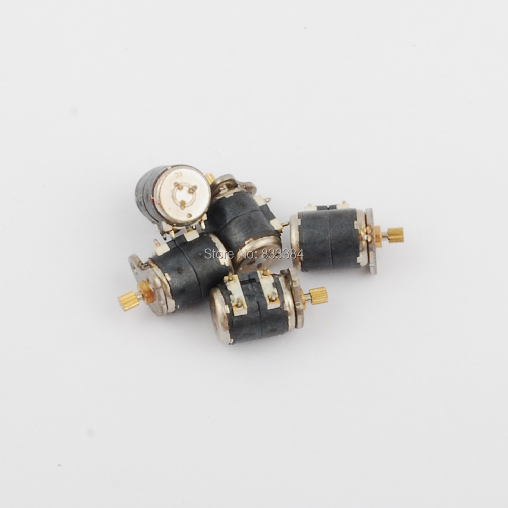 20pcs Dia6mm 3 5v Dc 4 Wire 2 Phase Micro Stepper Motor With Diagram Copper Gear Step Angle 18 Degree Free Shipping