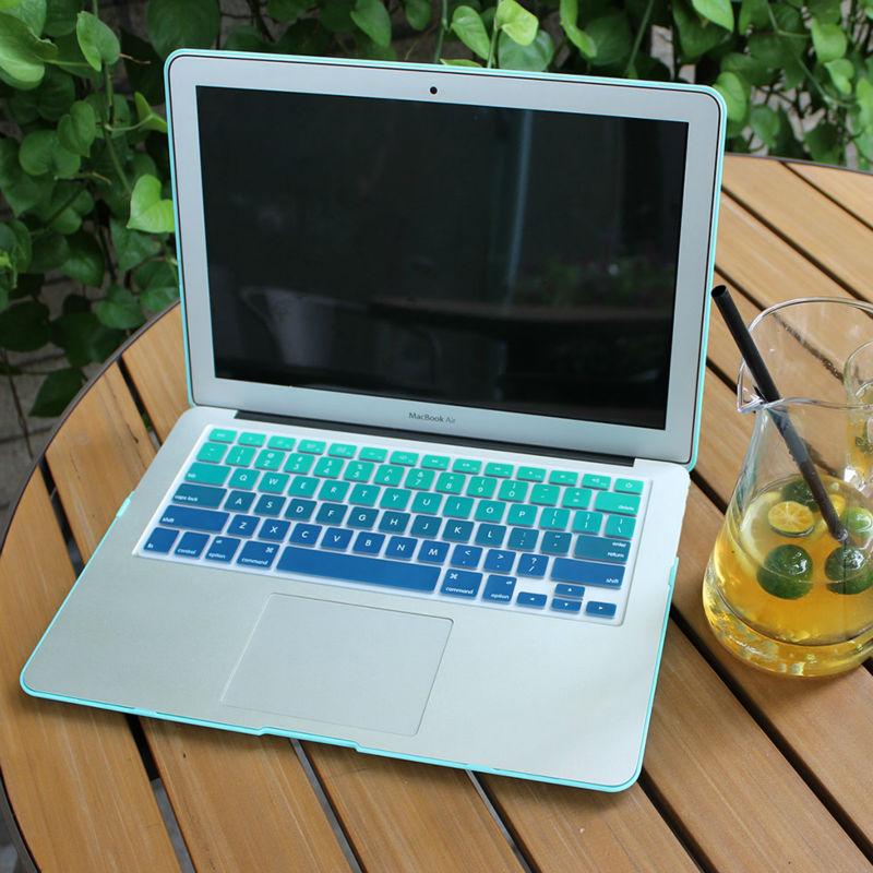 Обрезиненный матовый чехол для - Аксессуары для ноутбуков - Фотография 4