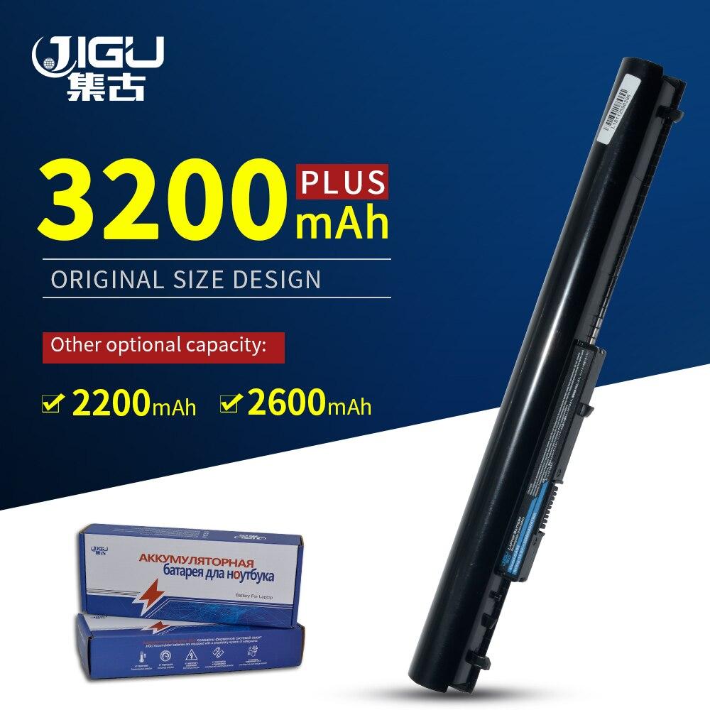 JIGU Laptop Battery Batteries For HP 240 G2 CQ14 CQ15 Batteries OA04 HSTNN-LB5S 740715-001 15-h000 15-S000 Black(China)