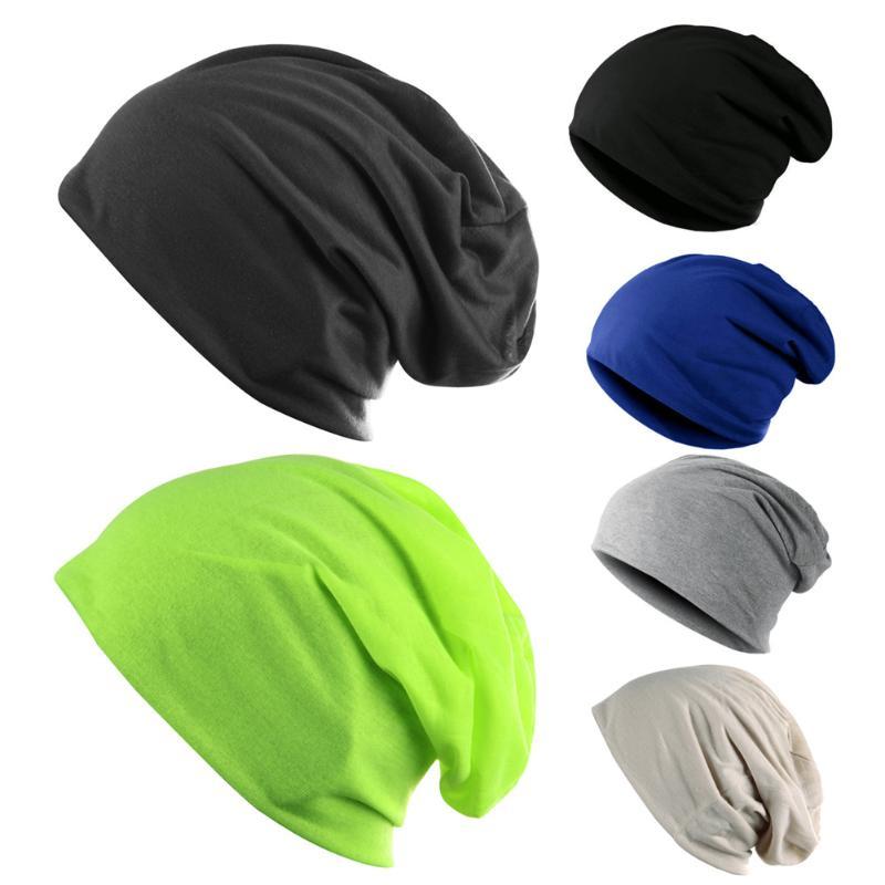 2018 Unisex Fashion Beanie Hat Women Men Knit Ski Crochet Cap Beanie Hat Beanies Hip-hop Bonnet Caps For Autumn Spring