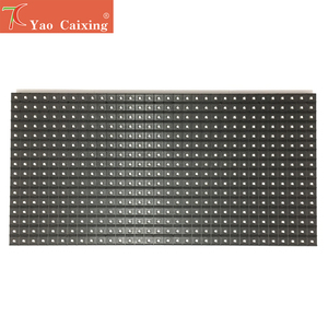 Image 5 - Free Shipping RGB Full Color Programmable Scrolling Sign Message Board Display  320*160mm 32*16 Pixels P10 SMD LED Module