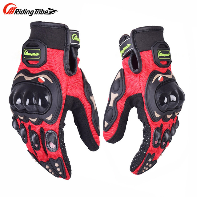 Motorcycle Gloves Sports Guantes Moto Luvas Eldiven Handschoenen Luvas da Motocicleta Cycling Bike Glove 01G18 Men Women Gloves