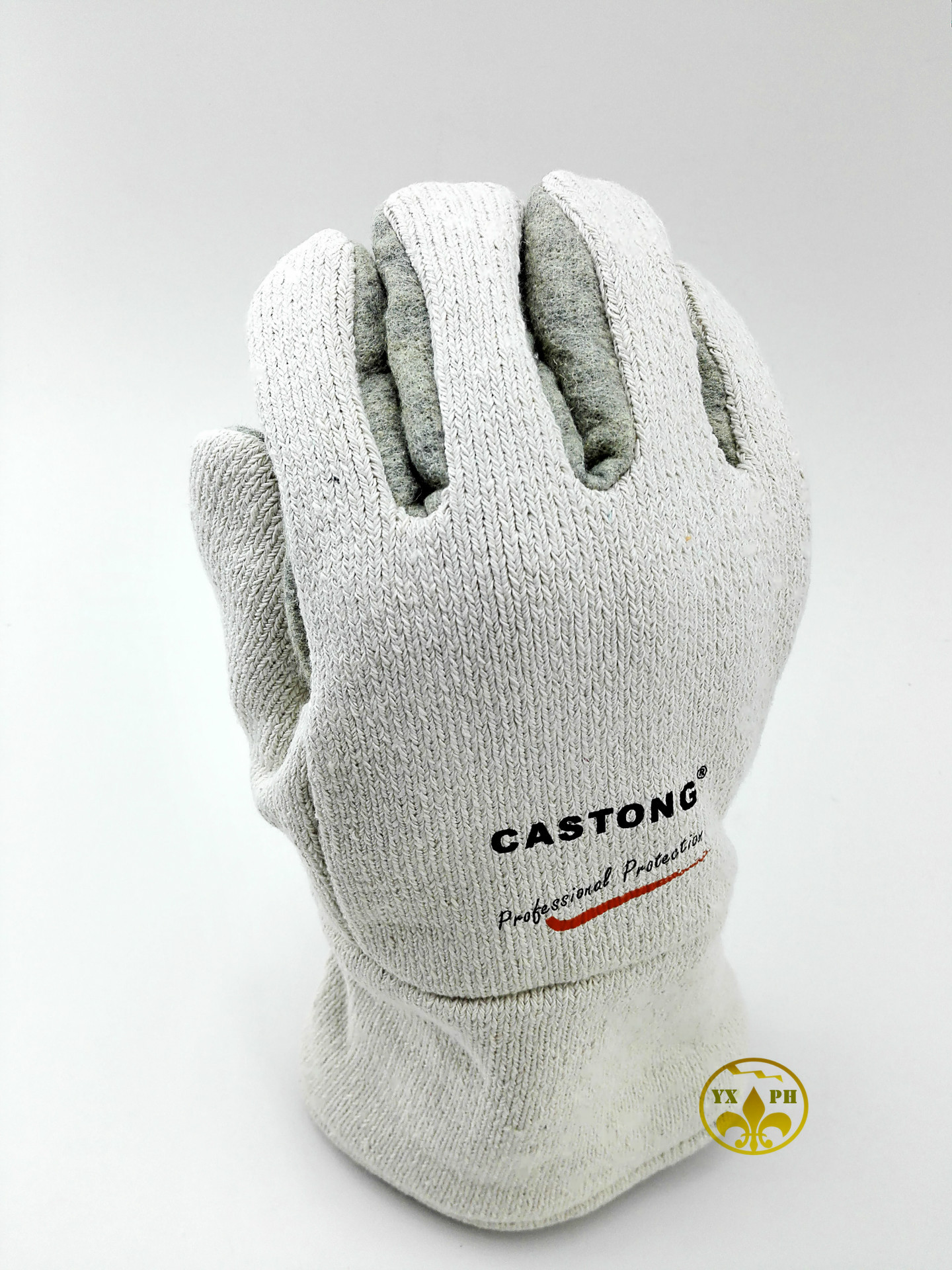 ФОТО 2016 new high temperature resistant gloves GEII 500 degrees of heat-resistant safety work industrial oven fireproof gloves
