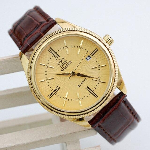 94c1bf95736 Venda quente dos homens relógios top marca de luxo militar quartz watch  casual calendário pulseira de