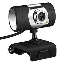 480 P Webcam 1 светодиодный PC Камера с поглощения микрофон Микрофон для Skype для Android ТВ вращающийся веб-камера USB компьютера Камера