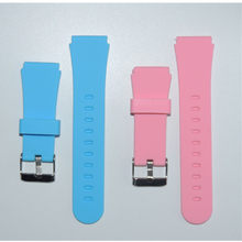 1PC New Smart Replace Watch Strap for Watch Strap for Q90 Q750 Q100 Q60 Q80 Children's GPS Tracker Watchband Silicone Wrist(China)