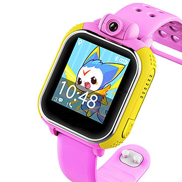 ФОТО G75 3G Smart Watch Children Kid Wristwatch With Camera GSM GPRS GPS Locator Tracker Anti-Lost Smartwatch Guard For IOS Android