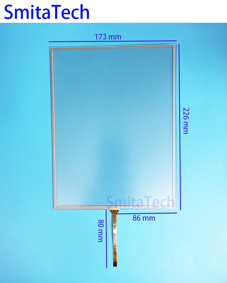 10.4 inch 173mm*226mm 4wire 1324 outlet Resistive Touch screen Digitizer panel ST-104005 226x173mm new 3 5 inch 4wire resistive touch panel digitizer screen for texet tn 300 gps free shipping