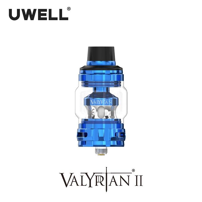 UWELL Valyrian II Tank 6ml Self cleaning technology Flip Cap design Electronic Cigarette Vape Sub Ohm