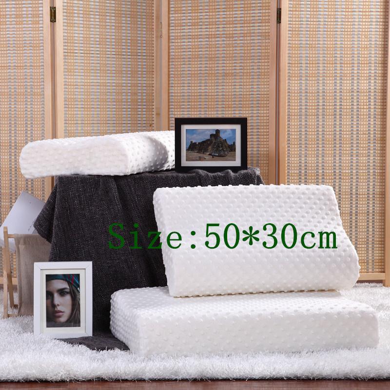 50X30 CM Factory direct masaż piankowa poduszka z pamięcią, zero stresu zdrowa fala szyi poduszka z pamięcią