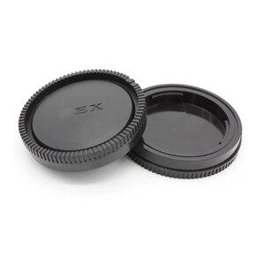 Image 5 - Tapa de cuerpo de cámara + tapa de lente trasera para Sony Alpha NEX Minolta MD Leica para cámara Pentax Olympus Micro M4/3 Fuji C Y M39, 10 unids/lote