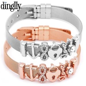 DINGLLY Fashion Stainless Stee