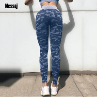 f892f81622 Nessaj New Fitness Pants Women Leggings Camouflage Women Workout Legging  High Waist Push Up Jeggings Elastic