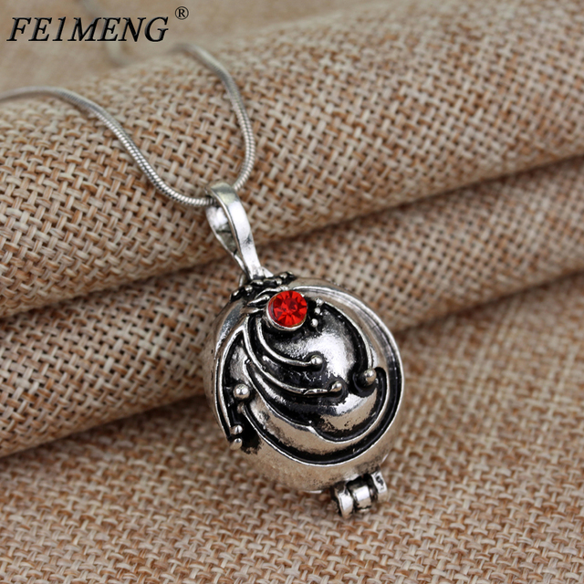 US $1 04 |Popular Movie Vampire Diaries Necklace Elena Gilbert Vervain  Romantic Crystal Pendant Necklaces For Women Charm Collar Jewelry-in  Pendant