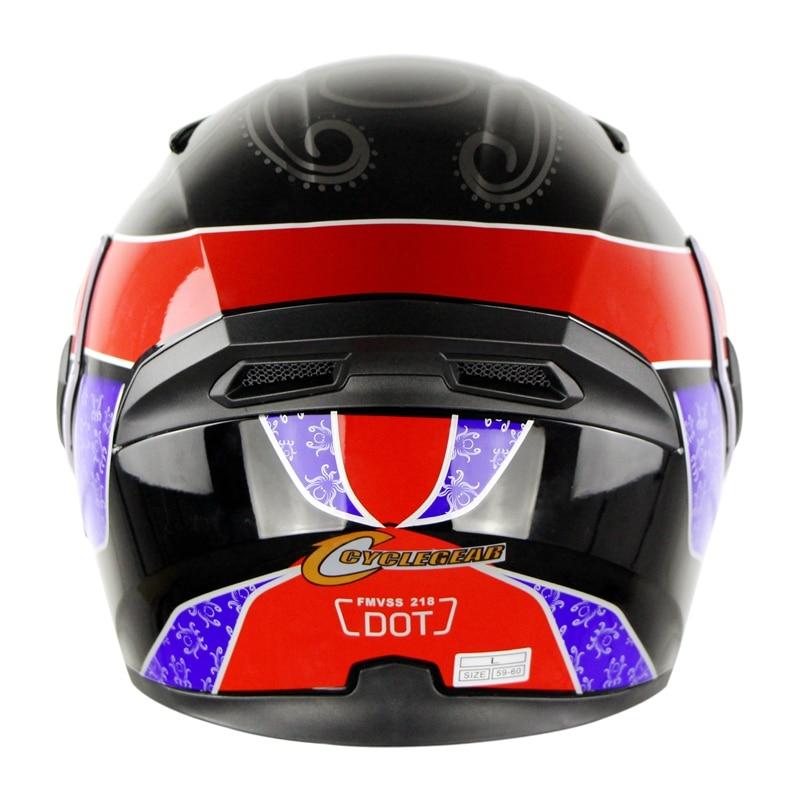 Cyclegear ABS флип мотоциклетный шлем с двойным щитком Casco Capacetes мото головные уборы CG902
