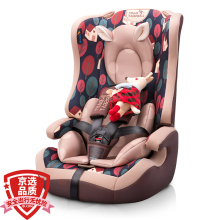 Children's car seat country 3C, European ECE certification 9 months - 12 years old LB513 caffeine pinecone