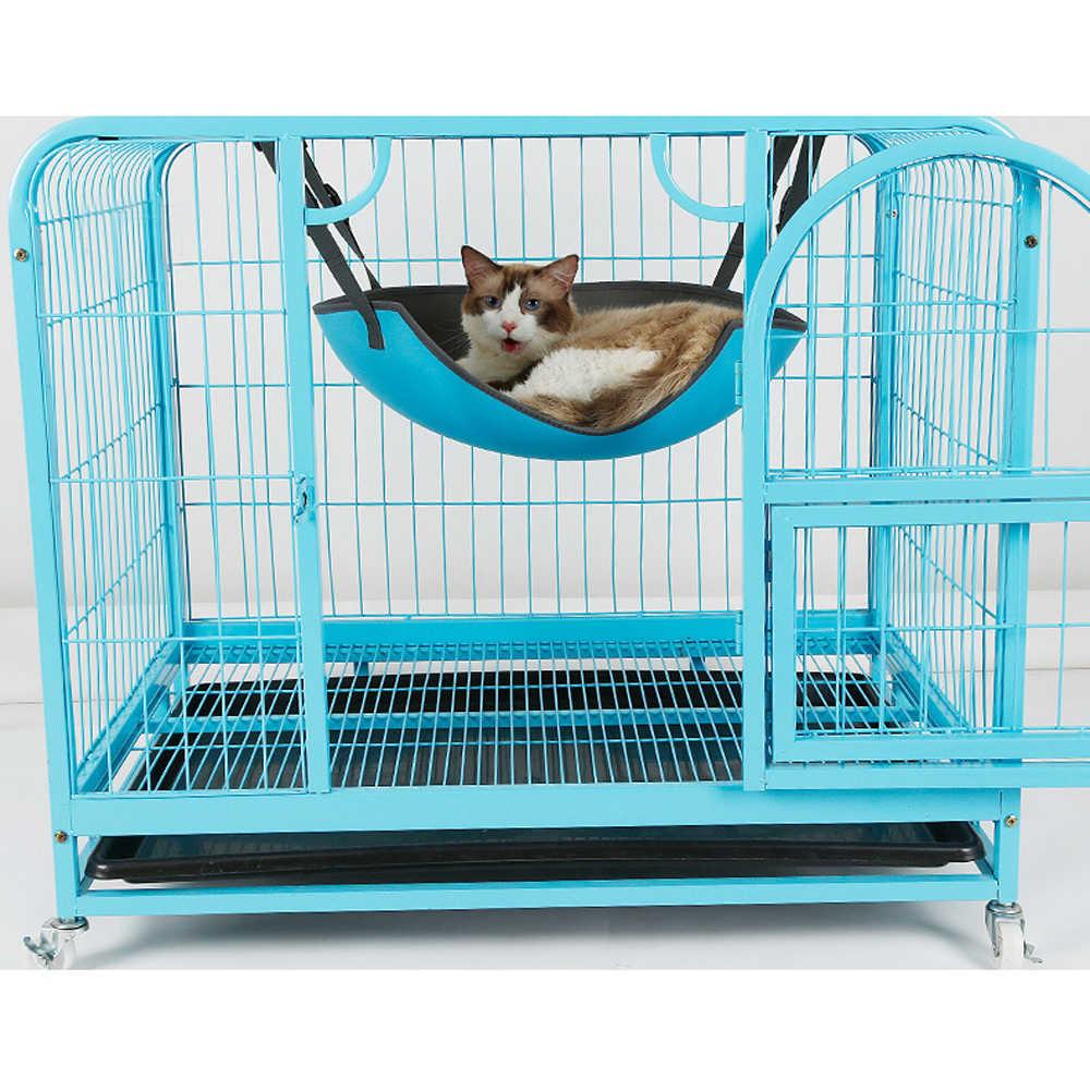 EVA Overal безопасный Кот качели гамак кровать домашние животные Kitty отдых игровой дом регулируемое подвесное гнездо под столом стул Домашние животные кровать без коврика