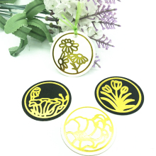 Julyarts 4Pcs Hot Foil Plate Circle Flower Metal Cutting Dies Scrapbooking Stencils Photo Album Die Cut Stamping