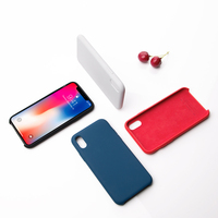 Nillkin Bumper Cases For IPhone X Plain Phone Cover S TPU Silicone Cover Protective Shell Soft