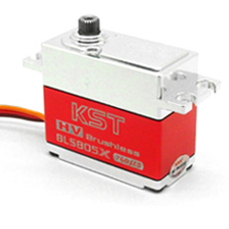 Tarot-RC Original KST BLS905X Brushless High Voltage Metal Gear Servo For 550-800 Helicopter Heli 760us cys bls5115 64g 15kg cm alu metal brushless servo for rc heli fixed wing plane