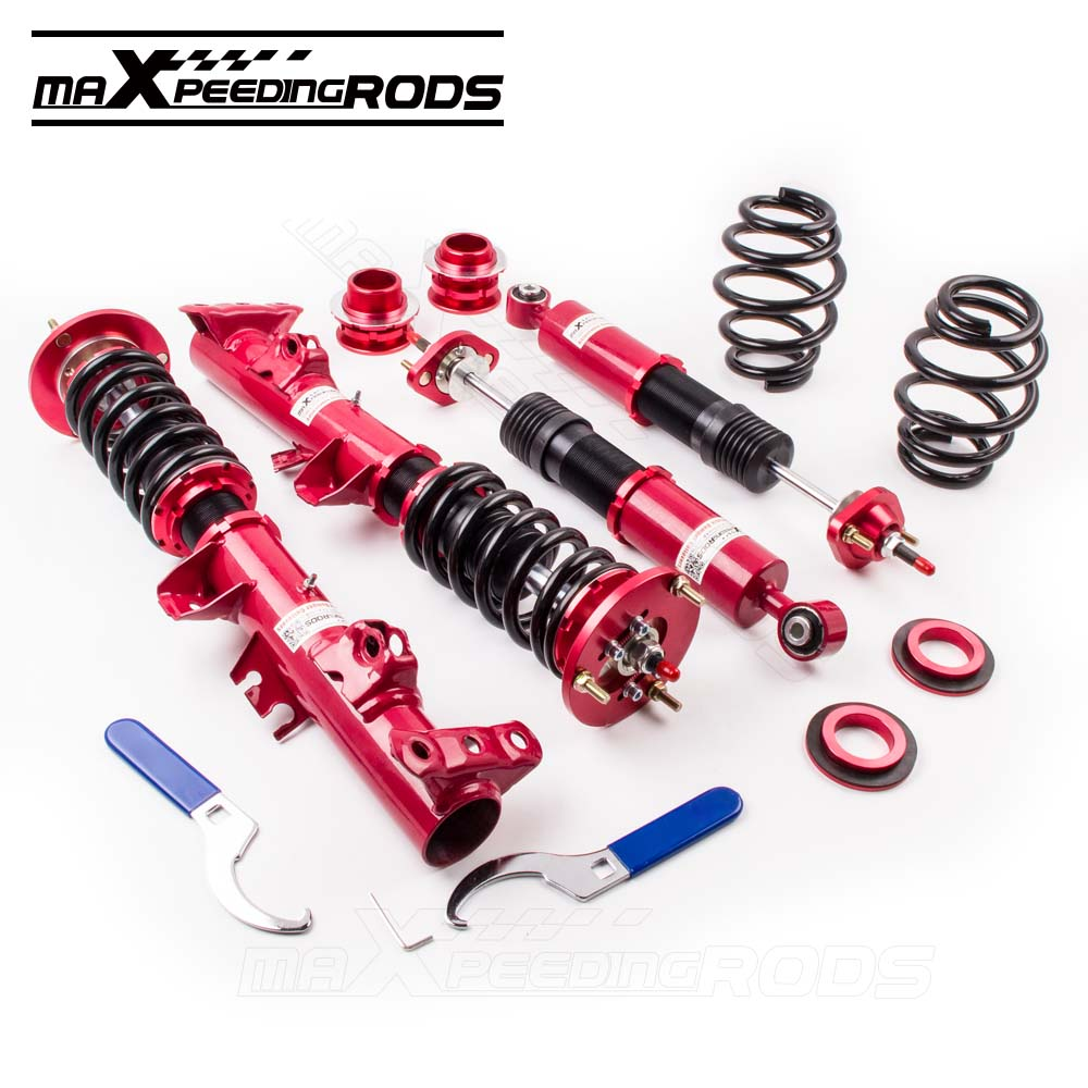Full adjustable coilovers suspension for bmw 3 series e36 316i 318ic 318ti shock absorber coil strut