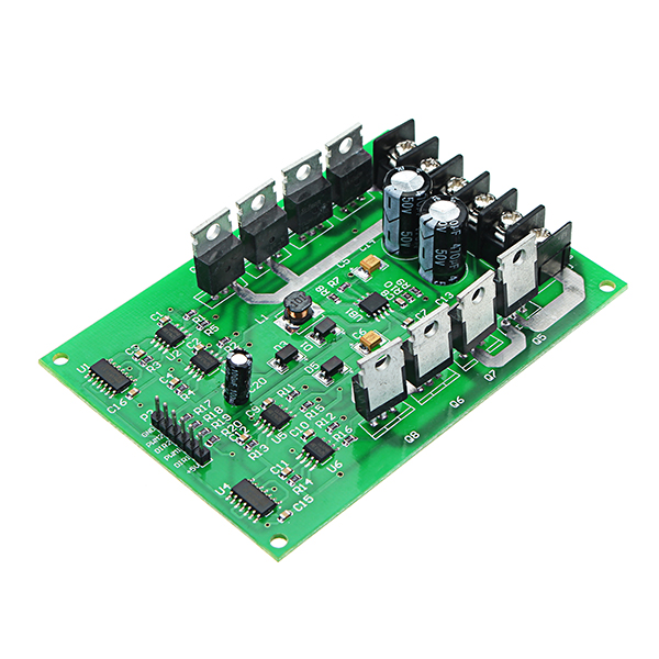 DC 3-36V 15A Peaks 30A PWM DC Dual Channel Motor Driver Board High Power H Bridge Control Module New dual motor driver module board h bridge dc mosfet irf3205 3 36v 10a peak30a