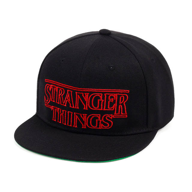 Online Shop TUNICA Men Women Summer snapback Caps Hats Stranger Things  embroidery Youth Black cotton Caps Trucker Adjustable Summer Hats  34a590270e2