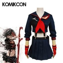 KILL la KILL Ryuko Matoi Cosplay Costume Anime Women Girls Fancy Dress JK Uniform Halloween Party Full Set Wear Role Playing