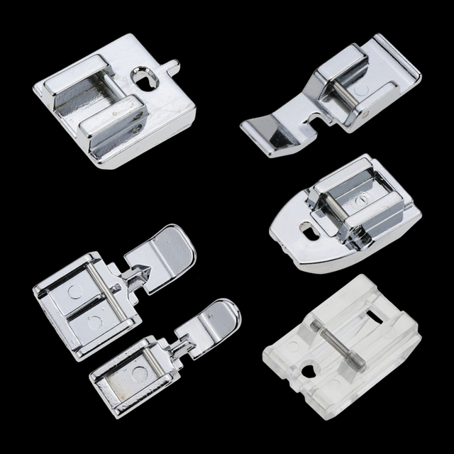 1 PCS Household Sewing Machine Parts Presser Foot Invisible Zipper Foot Plastic for singer brother white janome juki toyota