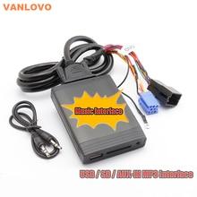 Digital Cambiador de la Música del USB SD Aux MP3 Adaptador para SEAT Cordoba Ibiza 1999 Facelift-2008 1999 Facelift-2002