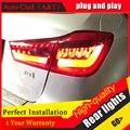 Auto Luzes Traseiras Clud Estilo Do Carro para Mitsubishi ASX ASX Novo Lâmpada de Cauda LEVOU Outlander EX CONDUZIU A Lâmpada Traseira DRL + Freio + Parque + Sinal de led l