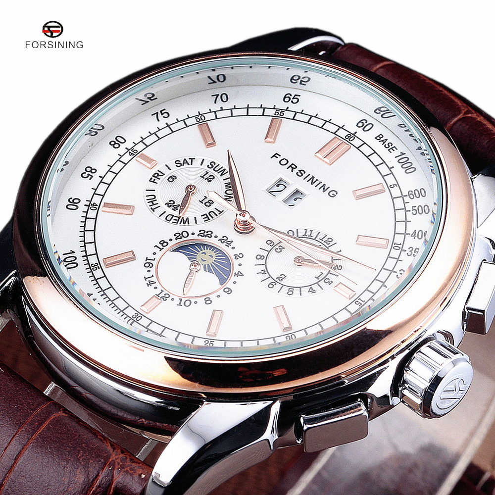 FORSINING Mens Top Luxury Fashion Brand Dress Mechanical Watch Auto Date Classic Designers Automatic Watches erkek saatleriFORSINING Mens Top Luxury Fashion Brand Dress Mechanical Watch Auto Date Classic Designers Automatic Watches erkek saatleri