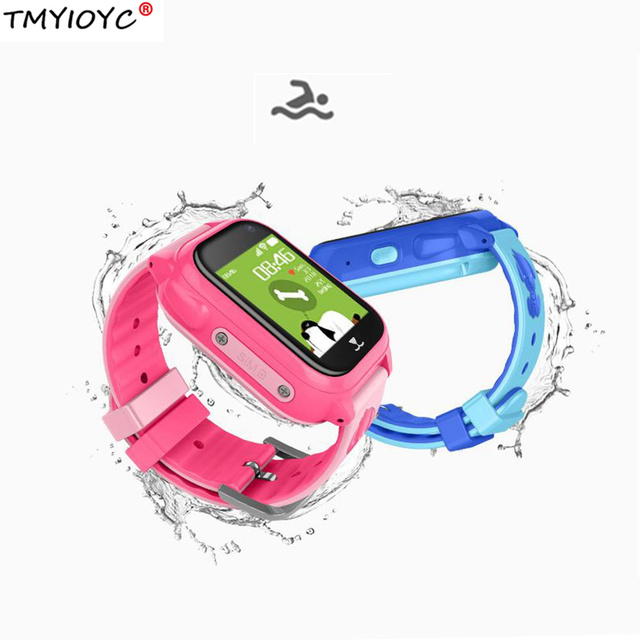2019 new IP67 waterproof baby child watch phone gps tracker Anti-lost Smart watch for kids children with adroid ios app Swimming