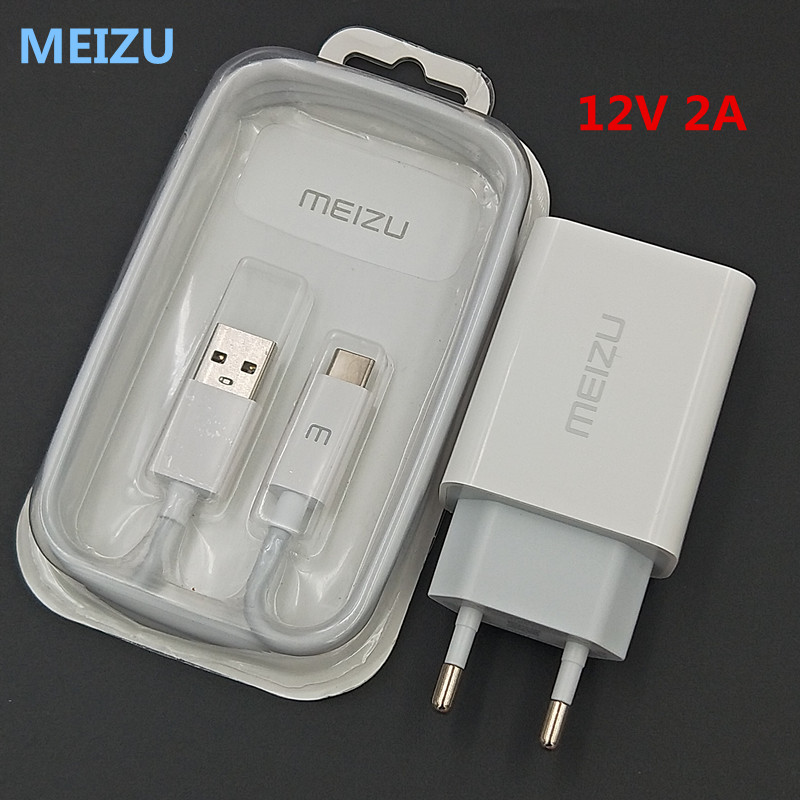 Eu-Charger Note 16-16th MEIZU Micro/type-C Data-Cable 12v 2a With For 16-16th/16x/Mx2/..