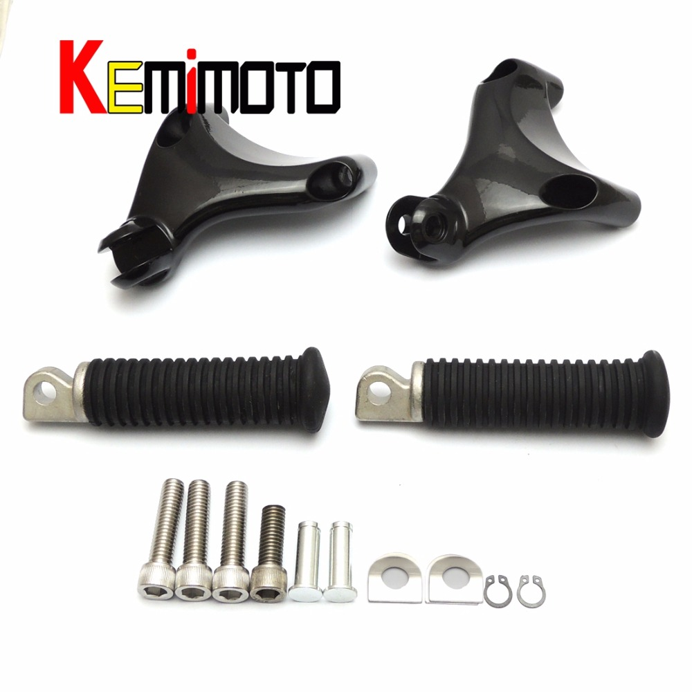 For Motorcycle Premium Quality Rear Passenger Foot pegs set  for Sportster 883 and 1200 2004-2013 motorcycle passenger rear foot pegs mount for for harley davidson 883 1200 xl sporster 2004 2013 black