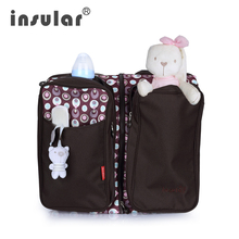 New Baby Bag Insular Multifunctional Diaper Bed Foldable Newborn Portable Outdoor Travel Mommy Nappy Changing
